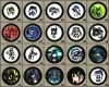 Black Rock Shooter Buttons