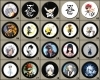 D.Gray Man Buttons