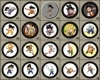 Dragon Ball Buttons