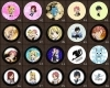 Fairy Tail Buttons