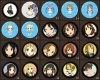 K-on Buttons
